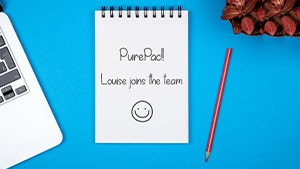 The PurePac energy keeps growing just like our team - Welcome Louise