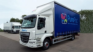 More PurePac vehicles means more rapid customer deliveries....