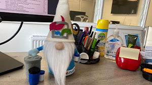 Our very own PurePac Gnome