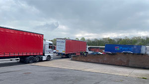 My favourite sight on site – Stock arriving